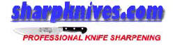 Professional knife sharpening by mail