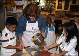 Kids cookie cooking class